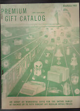 Hexagon Premium Gift Catalog 1959 Yearbook Jewelry Watches Toys Housewares
