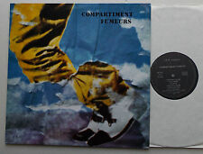 "COMPARTIMENT FUMEURS ""S/T"" FRENCH New Wave jazzy LP PRIVATE PRESS (1986) MINT"