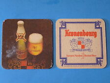 Beer Collectible Coaster    Kronenbourg Brasserie Since 1664 ~*~ Obernai, France