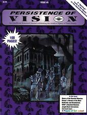 PERSISTENCE OF VISION #9: HAUNTED MANSION Disneyland Disney MARC DAVIS Rare OOP!