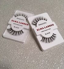 Wispie Thick Handmade Makeup Human Fake False Eyelashes Eye Lashes- UK Sale H