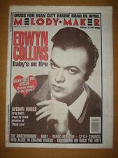 MELODY MAKER 1996 FEB 17 EDWYN COLLINS RADIOHEAD OASIS