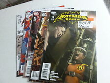 BATMAN AND ROBIN LOT 17,18,19,25,26  this is a 9.4 or better never read