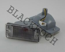 Bumper Turn Signal Light White Lens for 81-85 Nissan Sunny Sentra B11 Sedan