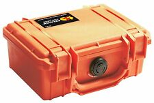 Pelican 1120 Case with Foam for Camera (Orange), New, Free Shipping