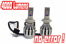 H7 Gen 4 Cree LED Headlight Bulbs Conversion Kit Xenon Hid BMW E39 E34 E60 E61