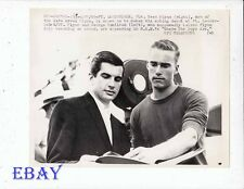 George Hamilton Sean Flynn VINTAGE Photo Where The Boys Are candid on set