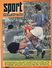 [SM4] RIVISTA SPORT ILLUSTRATO 1959 N°10 ITALIA SPAGNA BUFFON