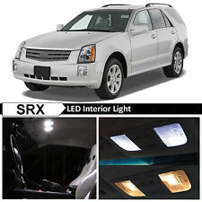 21x White Interior LED Lights Package for 2004-2009 Cadillac SRX + TOOL