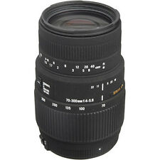 Sigma 70-300mm f/4-5.6 DG Macro Lens For Canon - Sigma Authorized Dealer