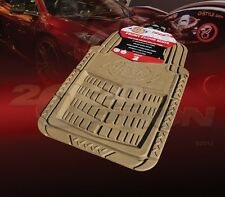 DICKIES ALL WEATHER WATER PROOF 2PCS FRONT FLOOR MATS TAN FOR FORD TRUCK & VAN