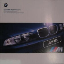 Prospekt BMW M5 E39  2/1998 Grossformat