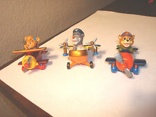1990 Disney Tailspin 3 Piece Lot  McDonalds Happy Meal toys