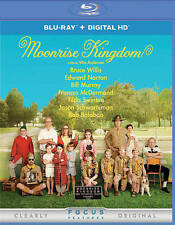 Moonrise Kingdom (Blu-ray with DIGITAL HD) DVDs-Good Condition