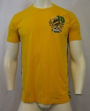 FORUM BRASIL WORLD CUP 2006 GRAPHIC CREW NECK T-SHIRT SZ MED. YELLOW, VIC-THOR1