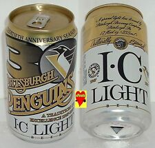 1997 30 YEARS PITTSBURGH PENGUINS TRADITION HOCKEY EXCELLENCE NHL BEER CAN SPORT
