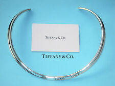 Tiffany & Co Sterling Silver 1837 Collar Cuff Necklace