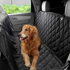 Pet Rear Back Seat Cover Waterproof Dog Car Protector SUV Bench Mat Black #CLSV