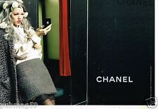 Publicité Advertising 2011 (2 pages) Haute Couture Chanel