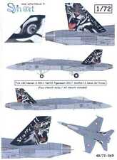 Syhart Decals 1/72 F/A-18C HORNET 2011 NATO TIGERMEET Swiss Air Force