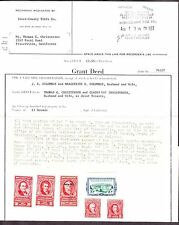 US R766, R765, R635, R662, R658, R734 Documentary Stamps on Deed Transfer