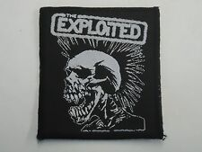 THE EXPLOITED WOVEN PATCH