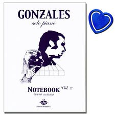Solo Piano - Notebook Volume 2 - Chilly Gonzales - EBR517 - 9790560151724