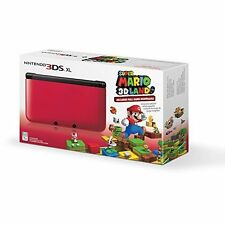 Nintendo 3DS XL Red/black With Super Mario 3D Land Download Very Good 1Z