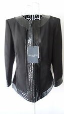 Marina Rinaldi Sport by Max Mara Black Jacket Top Italy13 US4