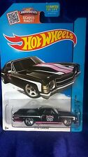 Hot Wheels '71 El Camino Black Die-cast 1:64 Scale 2015 HW City Hard To Find