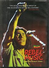 DVD ZONE 2--DOCUMENTAIRE--REBEL MUSIC - THE BOB MARLEY STORY