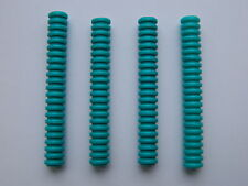 Lego Hose Ribbed 7mm D. 7L x4 Turquoise tube tubing technic space star wars