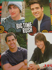 Big Time Rush, The Jonas Brothers, Double Full Page Pinup