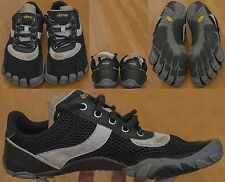 Five Finger Vibram Men's Speed Lace Shoes US Sz 8 Euro 41 Black And White