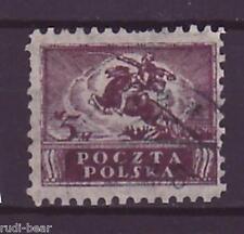 Polen Nr.  114  gest.  Freimarke Polnischer Ulan zu Pferde     -1