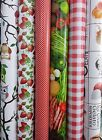 PVC Vinyl Wipeclean Tablecloth Table Covering Fabric