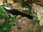 Machete/Knife/Black savage/Sword/Zombie/AUS8 Steel/Paracord 550 lock lanyard