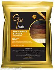 Keratin Gold™ 50g Dark Brown Hair Fibres Refill For Hair Loss Thickening