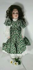 The Doll Maker Spring Doll 24 inches Signed by Linda Rick # 85/500