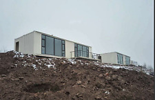 40FT combin custom shipping container house in Alpine Area 455USD/square meter