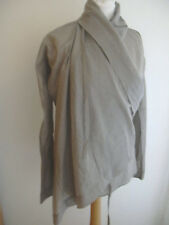 JNBY BEIGE THIN COTTON DRAPED LACE TIES BLOUSE NWT NEW UK 8 US 4
