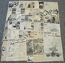 SOAP BOX DERBY Racing Ad Collection ~ LOT of 64 ads ~ PAUL HORNUNG + more