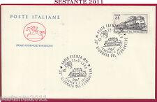 ITALIA FDC CAVALLINO GIORNATA DEL FERROVIERE FERROVIE E ARTE 1988 FAENZA RA Z327