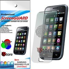 2 Pz Pellicola Opaca Per Samsung GALAXY S PLUS i9001 Antiriflesso Antimpronta