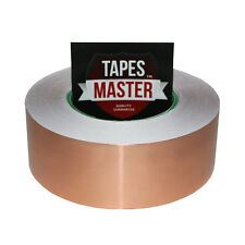 "2"" x 55 yds (50mmx50m) Copper Foil Tape / EMI Conductive Adhesive Ship from USA"