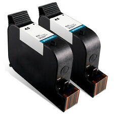 2 Pack HP 45 Ink Cartridge OfficeJet Pro 1150 1170 1175 Color Copier 110 12