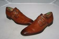 Magnanni 'Marco' Monk Strap Loafer Cuero Brown Shoes size 8.5 M $325