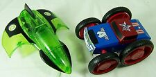 Captain America Transformer Car and Green Lantern Jet Airplane