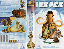 ICE AGE - Classic animated film -VHS -PAL -NEW and SEALED -Never played!! - RARE