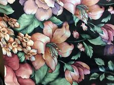 THE HYDE PARK SCREEN COLLECTION SCOTCHGUARD FLORALS 56 INCH WIDE 2/3 YARD